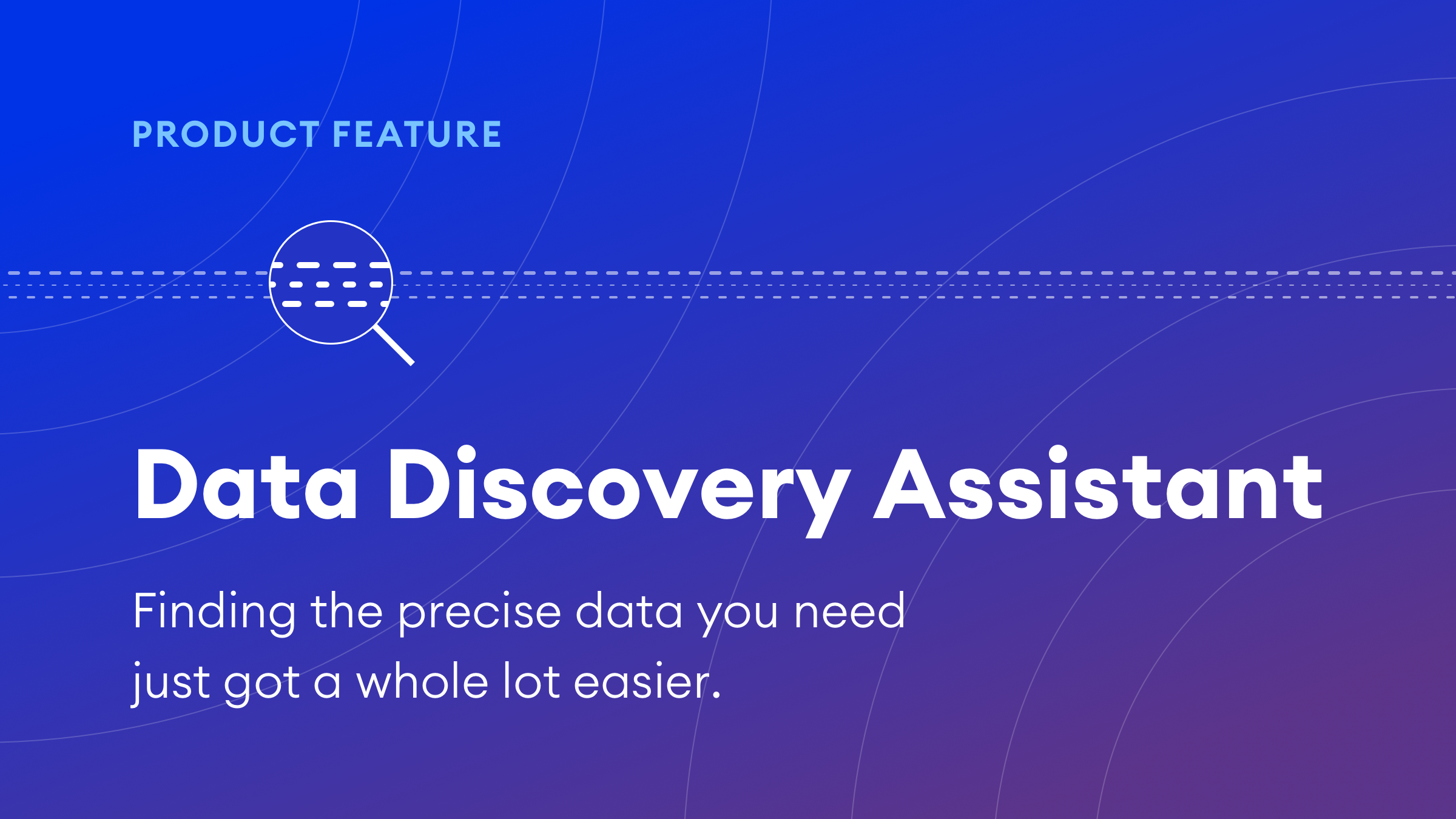 Uncover new attributes of interest with Data Discovery Assistant