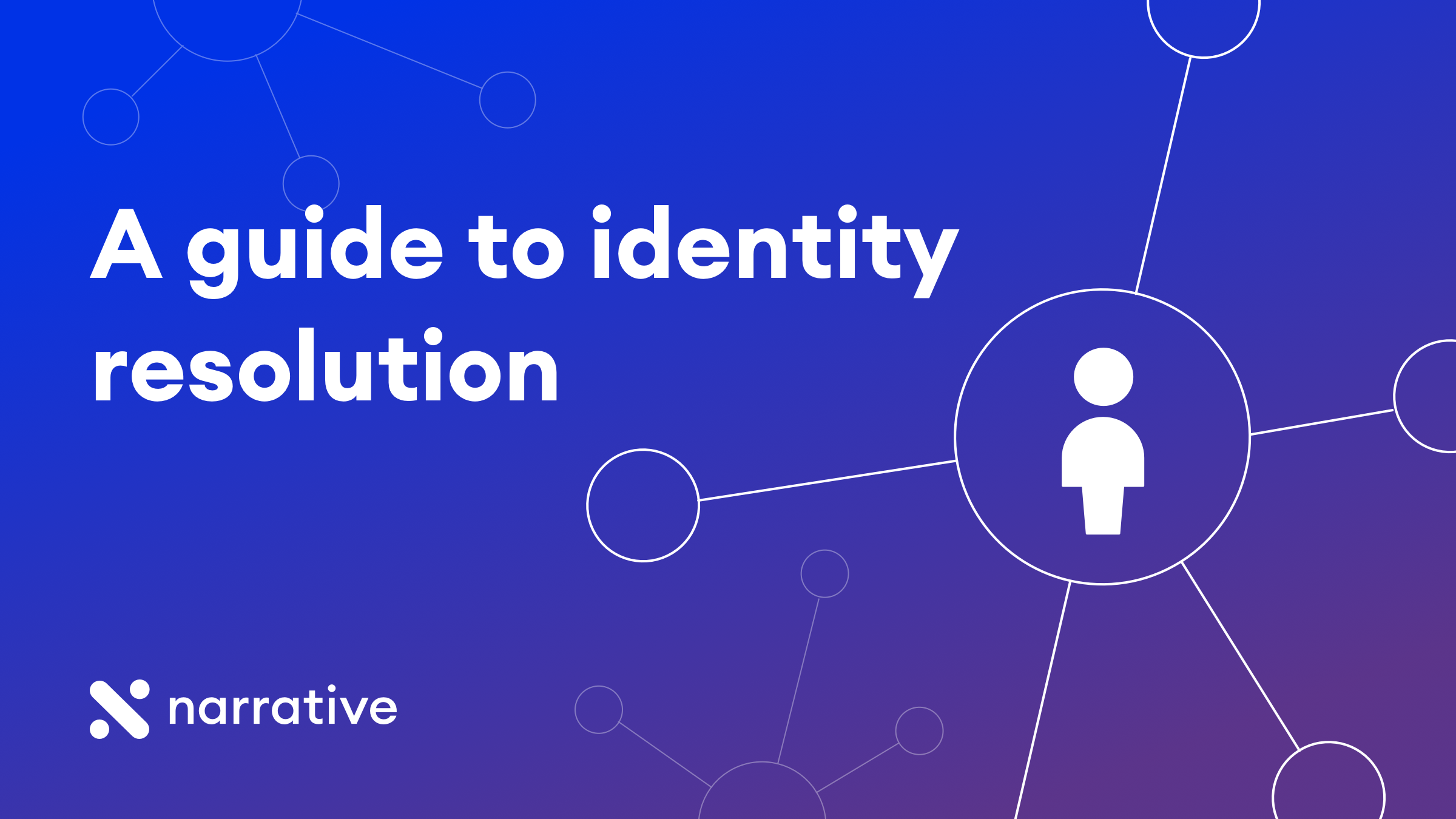 What is identity resolution? A guide to building an identity graph