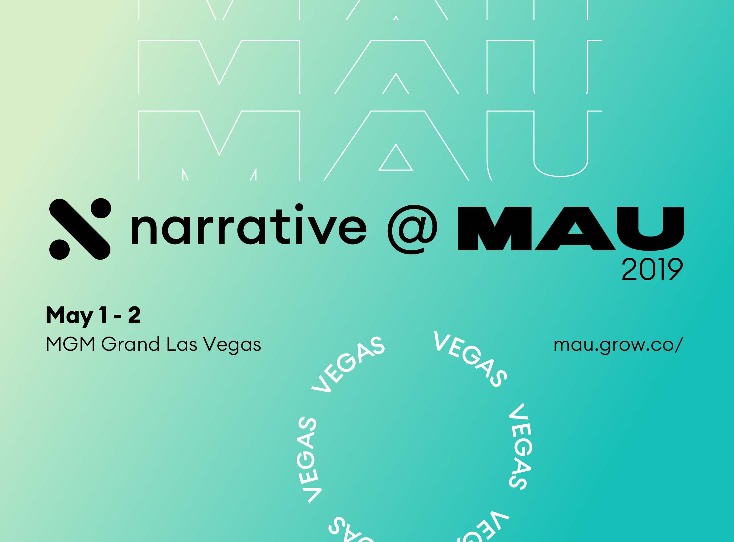 Narrative @ MAU 2019