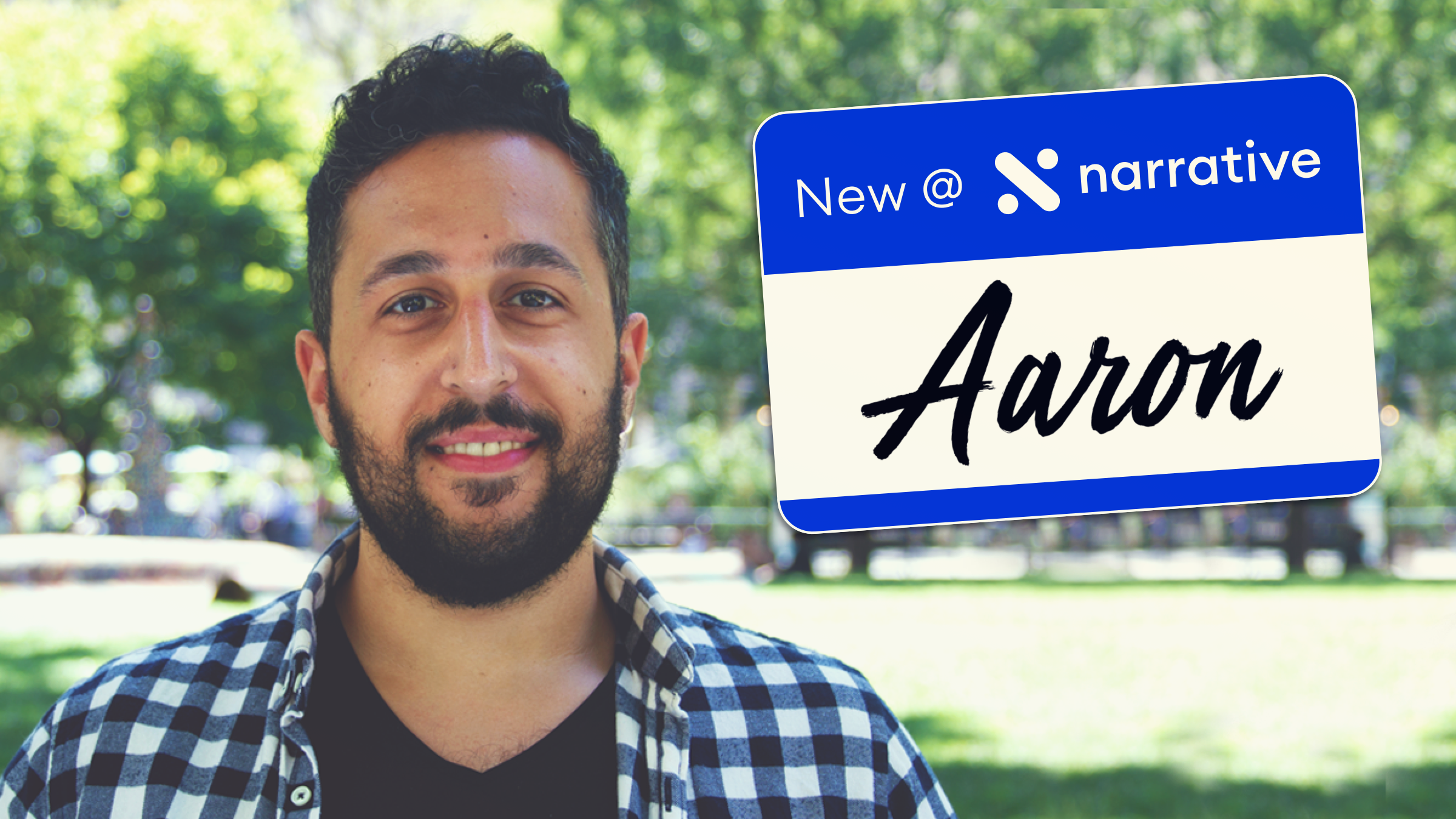 New at Narrative: Aaron Zarabi, Data Integrations Associate