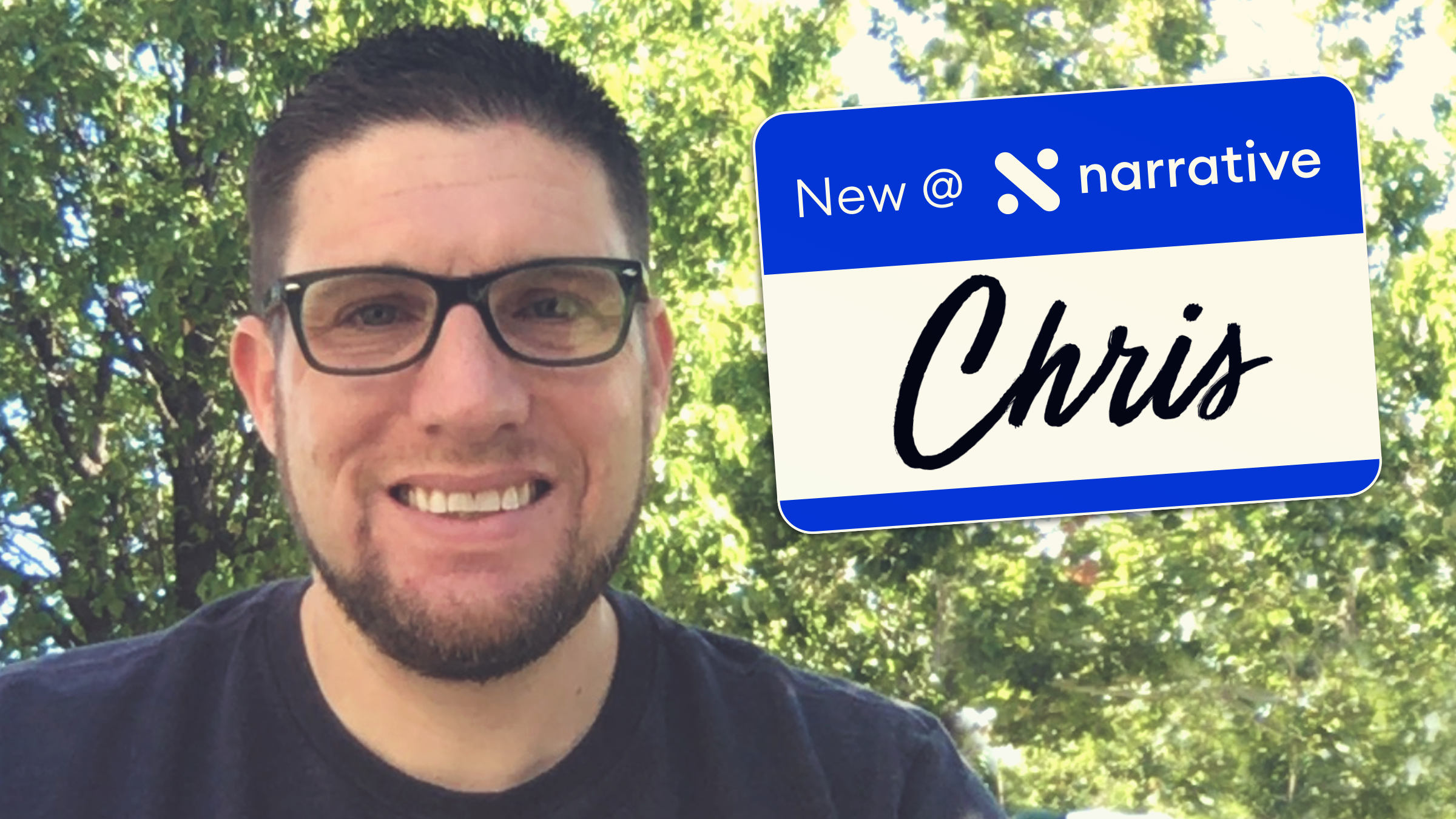 New at Narrative: Chris Woodward, Software Engineer