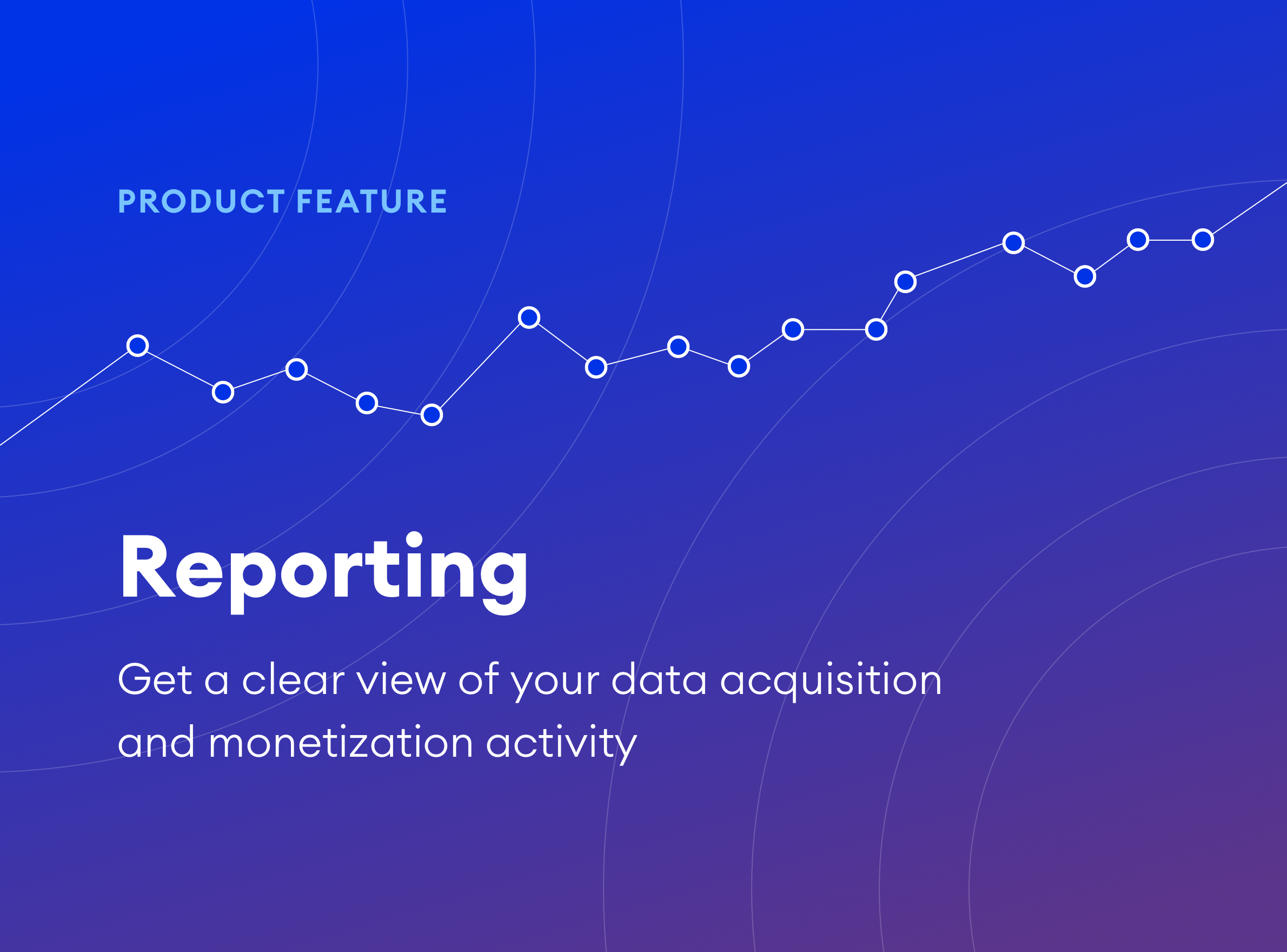 Better understand your data buying and selling activity with Reports